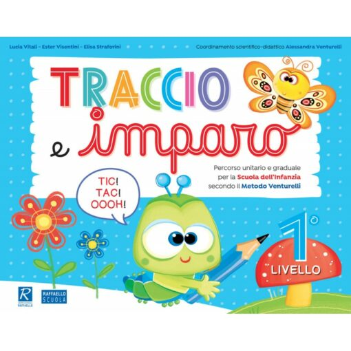 traccio e imparo 1 libro per la scuola materna